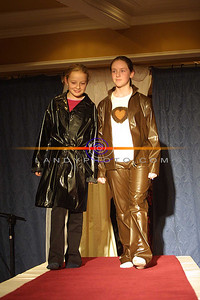 Katie Keane and Aishling O Caroll  of listowel modeling  at the Clounmachon community Centre Fashion Show in the Listowel arms Hotel. Pic Brendan Landy