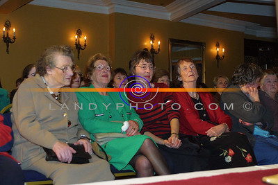 Eileen Hegarty and Noreen Harnett of liselton and Detty O sullivan and Mary Bambury of Listowel at the Clounmachon community Centre Fashion Show in the Listowel arms Hotel. Pic Brendan Landy