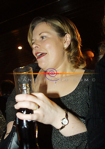 Mairead Donovan of athea enjoying a socialable drink out in Listowel During the Listowel Food fair. Pic Brendan Landy