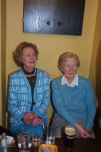 Chrisis Roche and Maura Roche at the Tribut night for 2 kerry great fotballers Ned Roche and Eddie Walsh in Knocknagoshel . Pic Brendan LAndy