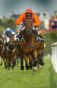 J A  Nash going on to win the Rover Flat Race on board Bacchus Prince on the opening day of Listowel Races. Pic Brendan Landy