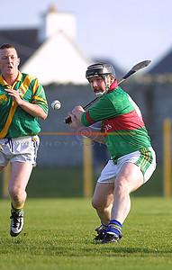 Brendan O Mahony shoots for a point. Pic Brendan Landy