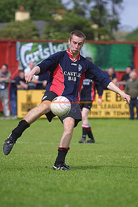Park Player ? about Name in action agains Listowel Celtic