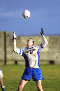 Kenneth Dillion frozen in time as he is about to catch a ball. Pic Brendan Landy