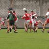 Ciarrai Thoir Paul Kennedy balancing the ball on his head.<br /> PIC: Manuela Dei Grandi/Landy Photo