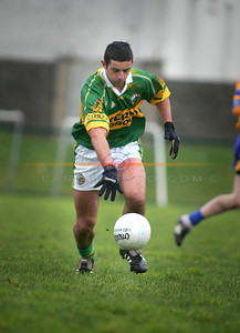 Aiden O Mahony watches his hop i the clash against Clare in Listowel Photo Brendan Landy