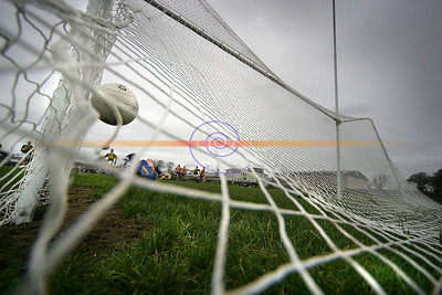 Straight at the camera.. kerry score yet another goal this time from the penalty spot. Photo Brendan Landy