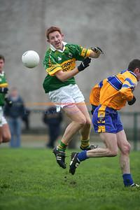 Kerrys  Noel Kennelly  keeps his eye to the ball. Photo Brendan Landy