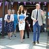 The Duke and Duchess of Cambridge, Keech Hospice, Luton.