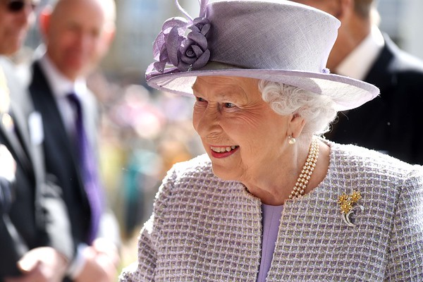 Her Majesty The Queen visits Priory View, an independent living development in Dunstable.