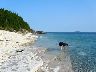 Collecting off the Bruce Peninsula, Kara Steeland