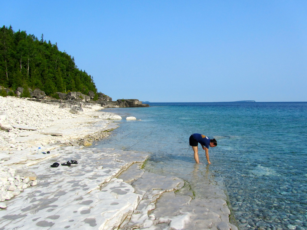 Collecting off the Bruce Peninsula, Kara Steeland