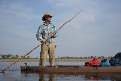 Gregg, Botswana -Courtesy of James Kydd/Wild Bird Trust.