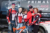 Pat Mayben and the Primal Team was out providing support to the league for the last race of the season! Photo Carrie Dittmer.