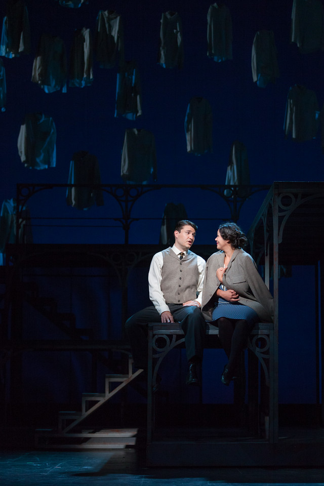 "Christian Bowers as Clyde Griffiths and Vanessa Isiguen as Roberta Alden in The Glimmerglass Festival's new production of Tobias Picker's ""An American Tragedy."" Photo: Karli Cadel/The Glimmerglass Festival."