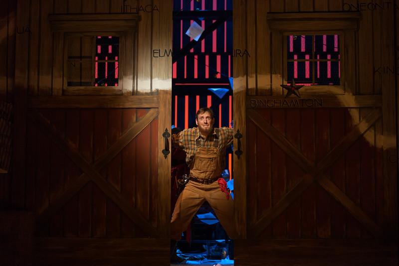 "Matthew Scollin as Farmhand in The Glimmerglass Festival's 2014 production of Strauss' ""Ariadne in Naxos."" Photo: Karli Cadel/The Glimmerglass Festival."