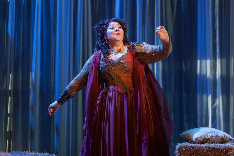 "Christine Goerke as Ariadne in The Glimmerglass Festival's 2014 production of Strauss' ""Ariadne in Naxos."" Photo: Karli Cadel/The Glimmerglass Festival."
