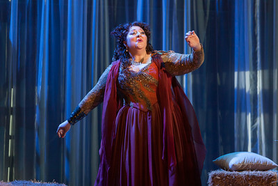 "Christine Goerke as Ariadne in The Glimmerglass Festival's 2014 production of Strauss' ""Ariadne in Naxos."" Photo: Karli Cadel/The Glimmerglass Festival."