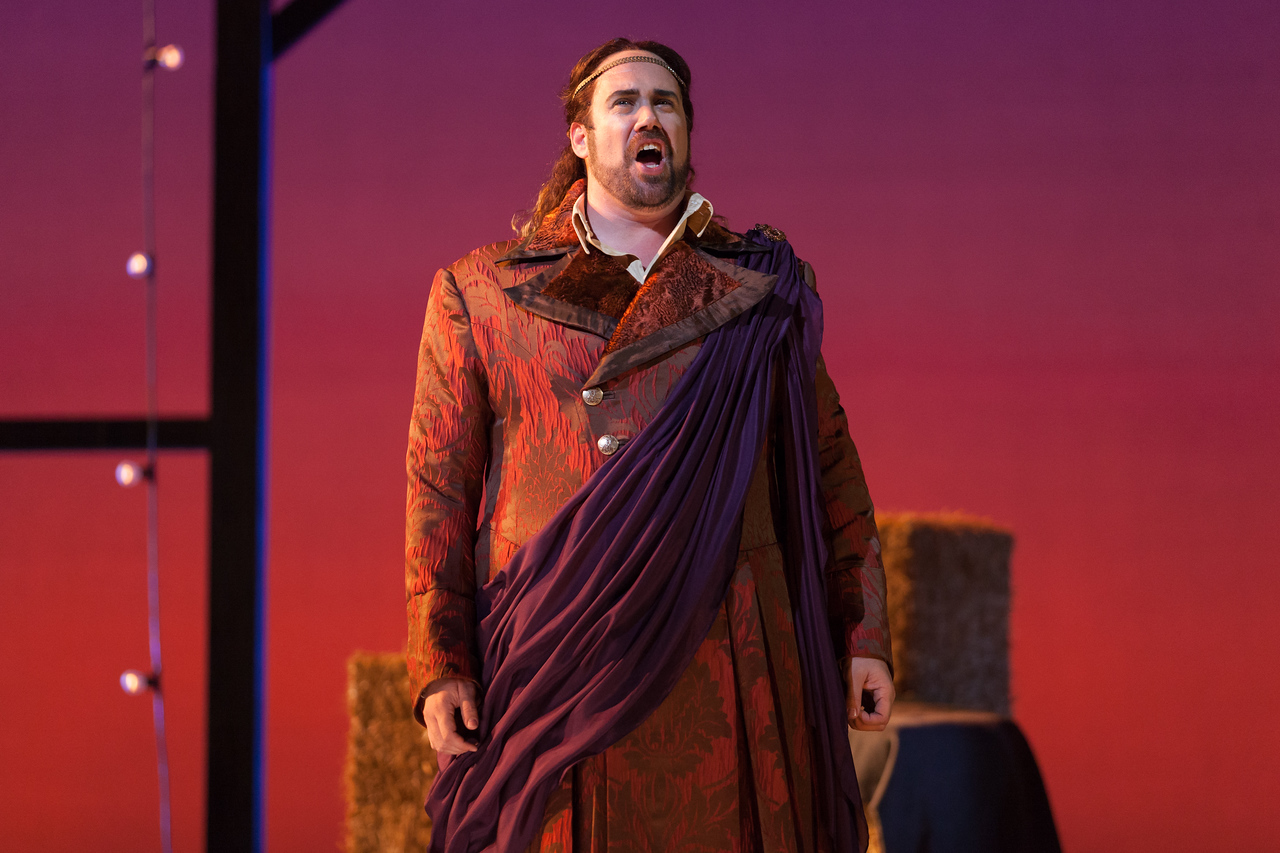 "Corey Bix as Bacchus in The Glimmerglass Festival's 2014 production of Strauss' ""Ariadne in Naxos."" Photo: Karli Cadel/The Glimmerglass Festival."