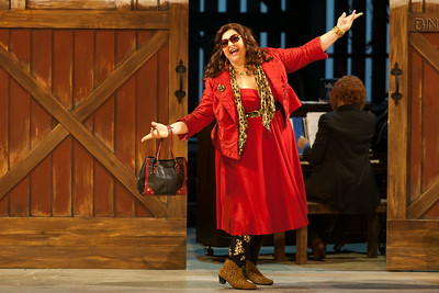 "Christine Goerke as Prima Donna in The Glimmerglass Festival's 2014 production of Strauss' ""Ariadne in Naxos."" Photo: Karli Cadel/The Glimmerglass Festival."