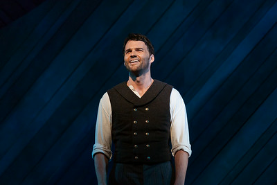 "Ryan McKinny as Billy Bigelow in The Glimmerglass Festival's 2014 production of Rodgers and Hammerstein's ""Carousel."" Photo: Jessica Kray/The Glimmerglass Festival."