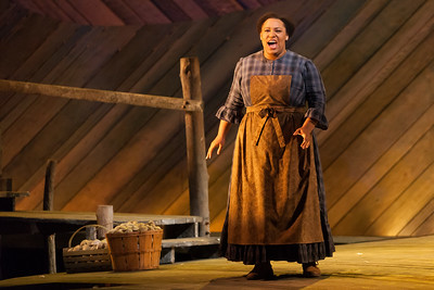"Deborah Nansteel as Nettie Fowler in The Glimmerglass Festival's 2014 production of Rodgers and Hammerstein's ""Carousel."" Photo: Karli Cadel/The Glimmerglass Festival."
