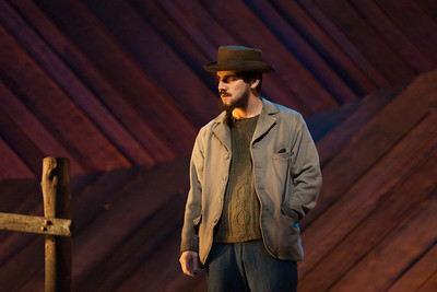 "Ben Edquist as Jigger Craigin in The Glimmerglass Festival's 2014 production of Rodgers and Hammerstein's ""Carousel."" Photo: Karli Cadel/The Glimmerglass Festival."