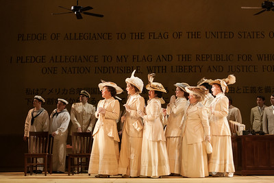 """The ensemble of The Glimmerglass Festival's 2014 production of """"Madame Butterfly."""" Photo: Karli Cadel/The Glimmerglass Festival."""