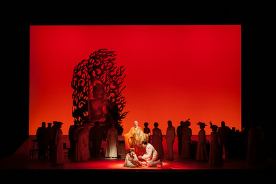 """The Glimmerglass Festival's 2014 production of """"Madame Butterfly. Photo: Jessica Kray/The Glimmerglass Festival."""