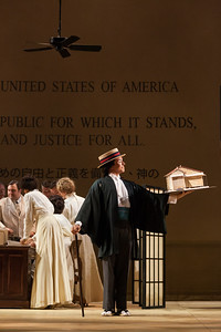 """Ian McEuen as Goro in The Glimmerglass Festival's 2014 production of """"Madame Butterfly."""" Photo: Karli Cadel/The Glimmerglass Festival."""