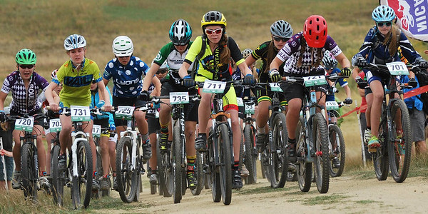 Freshman girls experience a 62% increase in participation from 2013. Photo Austin Smart.