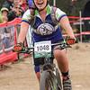 Sierra Levene, JV, 7220 Laramie, celebrates her 3rd place finish.