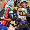 Durango Coaches congratulate Katja Freeburn, Varsity, on her 2nd place effort.