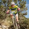 Rita Gutierrez, JV, Eagle County climbs hill.