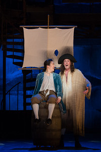 "Andrew Stenson as Candide and Matthew Scollin as Martin in The Glimmerglass Festival's 2015 production of Bernstein's ""Candide."" Photo: Karli Cadel/The Glimmerglass Festival."