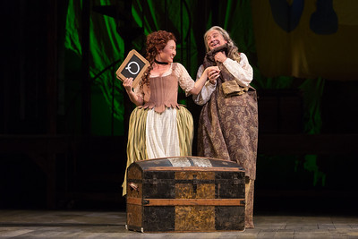 "Kristen Choi as Paquette and David Garrison as Pangloss in The Glimmerglass Festival's 2015 production of Bernstein's ""Candide."" Photo: Karli Cadel/The Glimmerglass Festival."