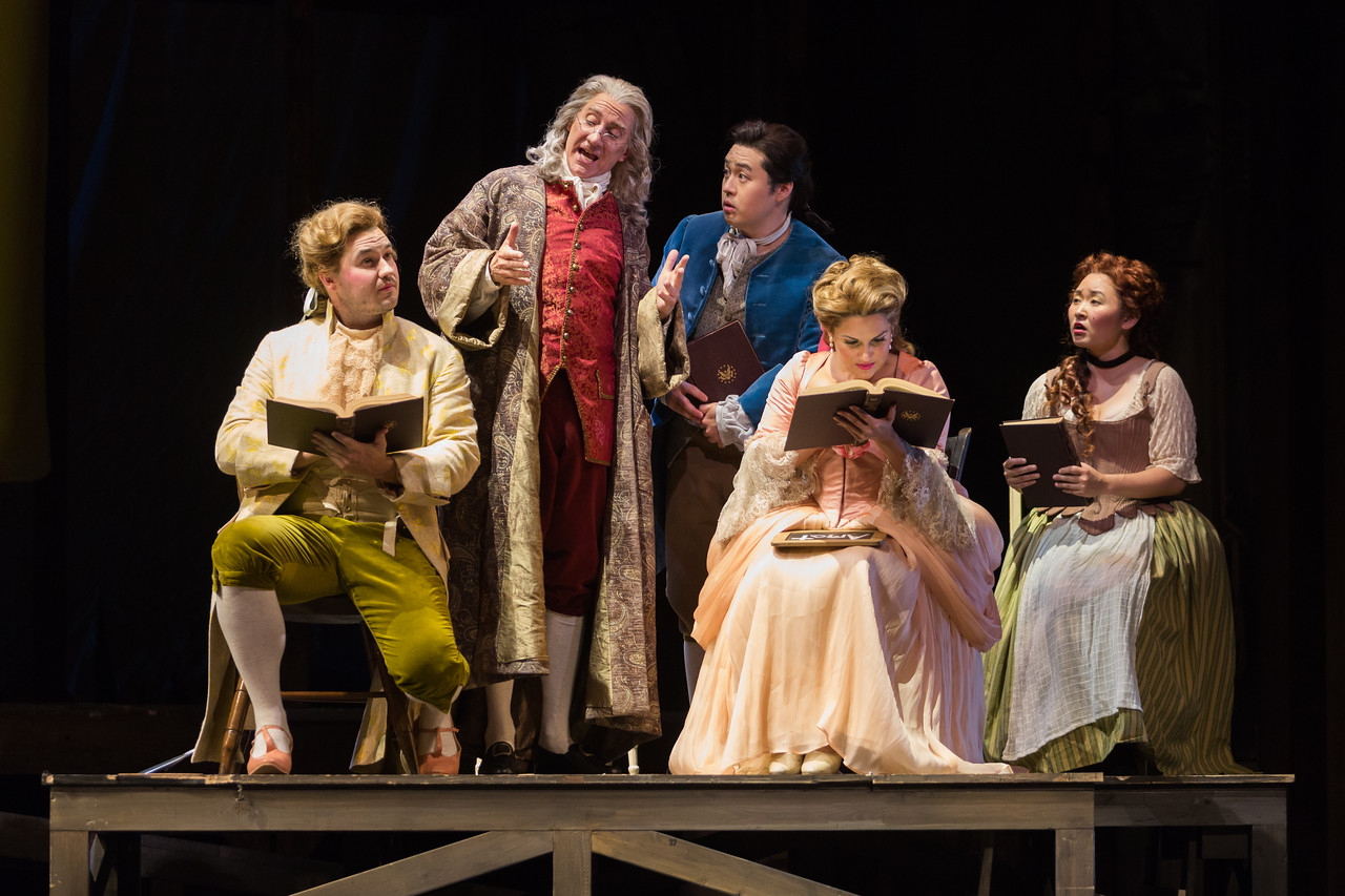 "The Glimmerglass Festival's 2015 production of Bernstein's ""Candide."" Photo: Karli Cadel/The Glimmerglass Festival."