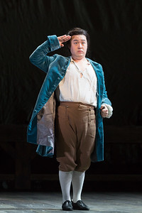 "Andrew Stenson as Candide in The Glimmerglass Festival's 2015 production of Bernstein's ""Candide."" Photo: Karli Cadel/The Glimmerglass Festival."