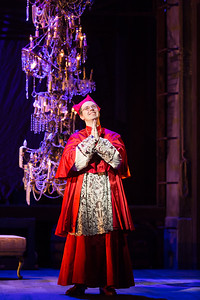 "Brad Raymond as The Grand Inquisitor in The Glimmerglass Festival's 2015 production of Bernstein's ""Candide."" Photo: Karli Cadel/The Glimmerglass Festival."