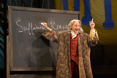 "David Garrison as Voltaire in The Glimmerglass Festival's 2015 production of Bernstein's ""Candide."" Photo: Karli Cadel/The Glimmerglass Festival."