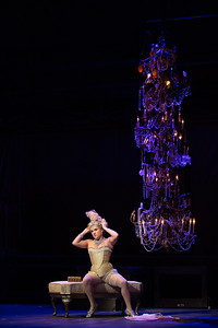 """Kathryn Lewek as Cunegonde in The Glimmerglass Festival's 2015 production of Bernstein's """"Candide."""" Photo: Karli Cadel/The Glimmerglass Festival."""
