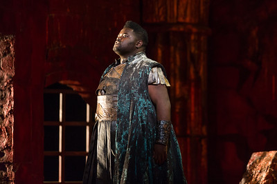 "John Holiday as Caesar in The Glimmerglass Festival's 2015 production of Vivaldi's ""Cato in Utica."" Photo: Karli Cadel/The Glimmerglass Festival."