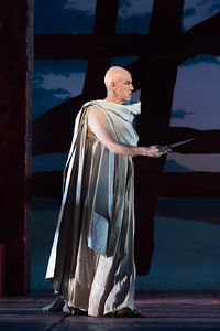 "Thomas Michael Allen as Cato in The Glimmerglass Festival's 2015 production of Vivaldi's ""Cato in Utica."" Photo: Karli Cadel/The Glimmerglass Festival."