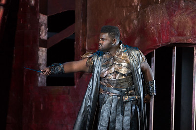 "John Holiday as Caesar in The Glimmerglass Festival's 2015 production of Vivaldi's ""Cato in Utica."" Photo: Karli Cadel/The Glimmerglass Festival"