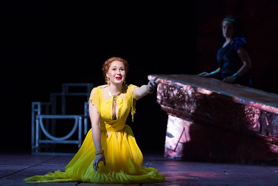 "Megan Samarin as Marzia in The Glimmerglass Festival's 2015 production of Vivaldi's ""Cato in Utica."" Photo: Karli Cadel/The Glimmerglass Festival."