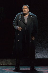 "Eric Owens as Macbeth in The Glimmerglass Festival's 2015 production of ""Macbeth."" Photo: Karli Cadel/The Glimmerglass Festival"