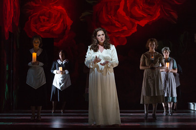 "Melody Moore as Lady Macbeth in The Glimmerglass Festival's 2015 production of ""Macbeth."" Photo: Karli Cadel/The Glimmerglass Festival"