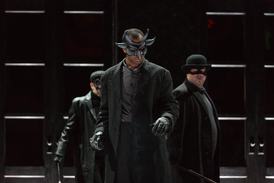 "Derrell Acon as Assassin in The Glimmerglass Festival's 2015 production of ""Macbeth."" Photo: Karli Cadel/The Glimmerglass Festival"
