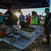 Course Marshals receive early morning safety briefing. Photo Leslie Farnsworth-Lee.