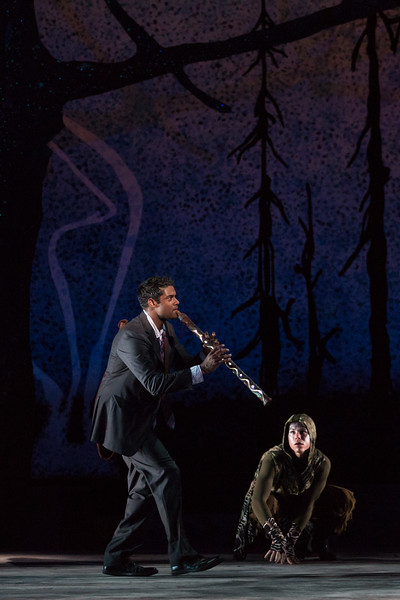"""Sean Panikkar as Tamino in The Glimmerglass Festival's 2015 production of Mozart's """"The Magic Flute."""" Photo: Karli Cadel/The Glimmerglass Festival"""